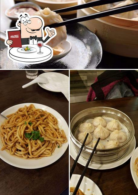 Food at Dim Sum Garden