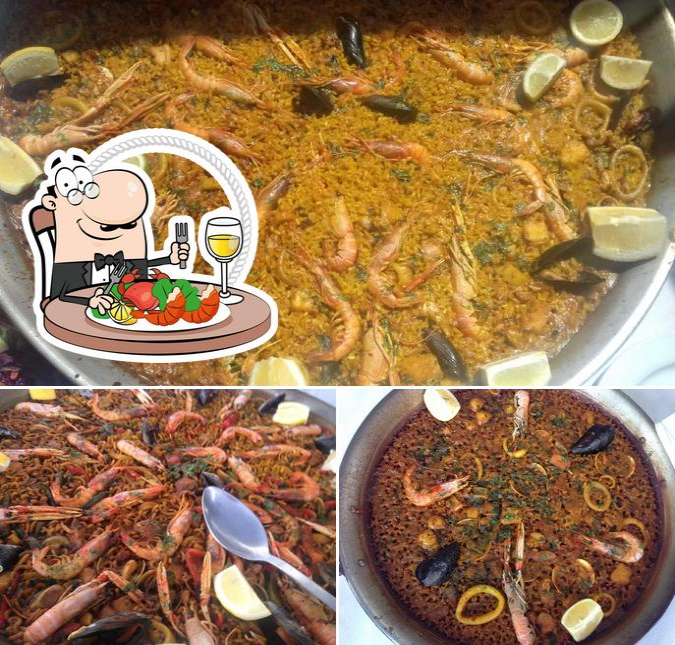 Отведайте блюда с морепродуктами в El Chiringuito