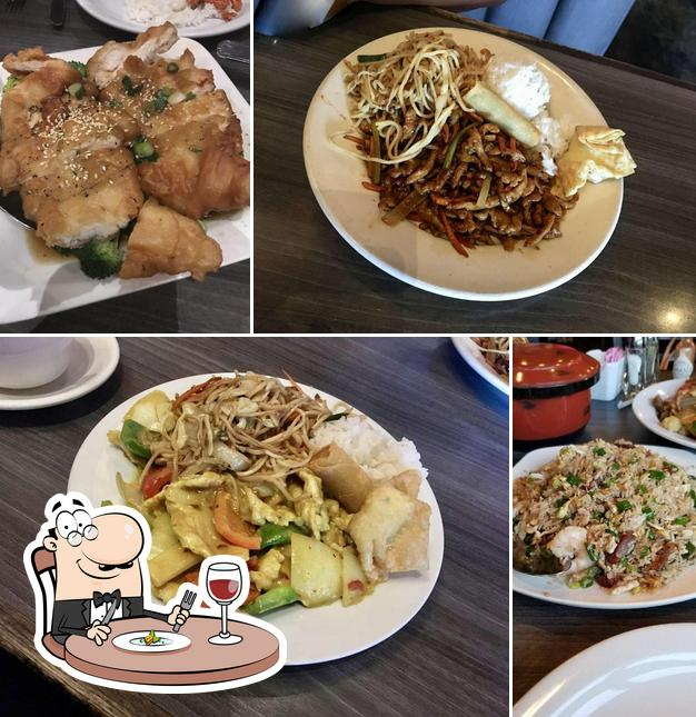 Meals at George & Son's Asian Cuisine