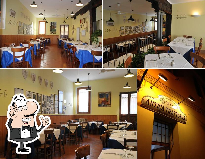 Check out how Il Cucco looks inside