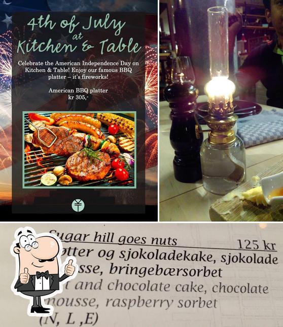 Kitchen Table Restaurant Tromso Restaurant Reviews