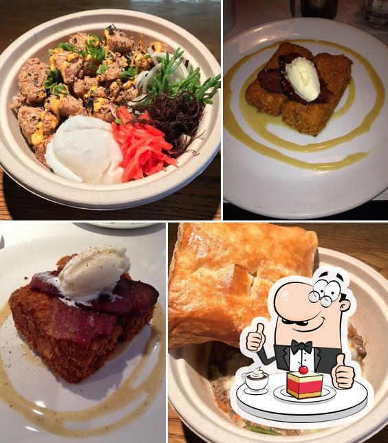Koko Head Café предлагает широкий выбор десертов