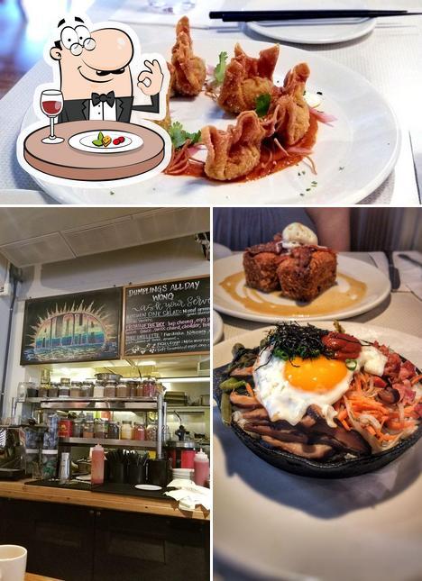 Еда в Koko Head Café
