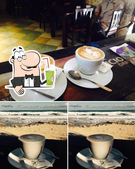 Disfrutra de una bebida en Las Palmas