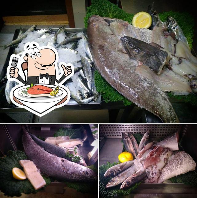 Munich 2 Seafood House fornece um menu para amantes de pratos de peixe