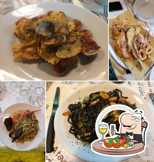 Ordina la cucina di mare a Osteria I Matetti