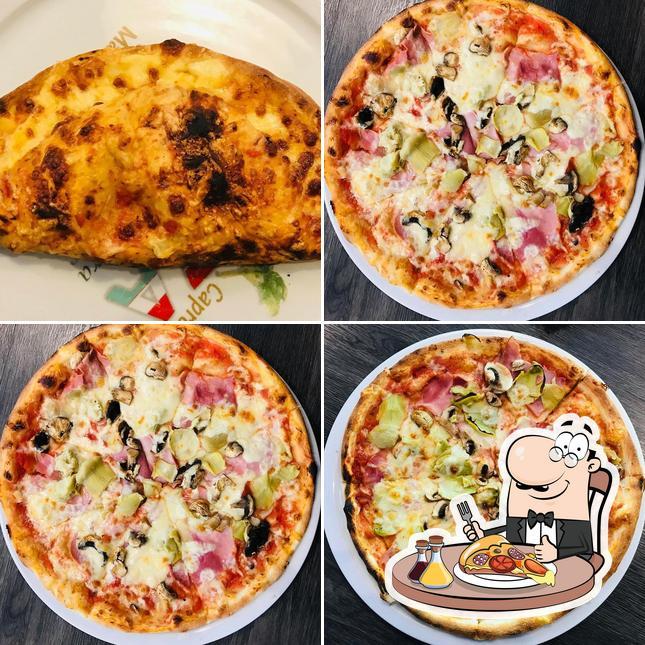 Probiert eine Pizza bei Piccolo