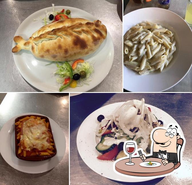 Food at Pizzeria D'Angolino