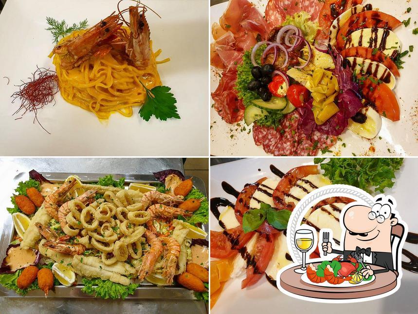 Bestellt Meeresfrüchte bei Pizzeria La Palestra