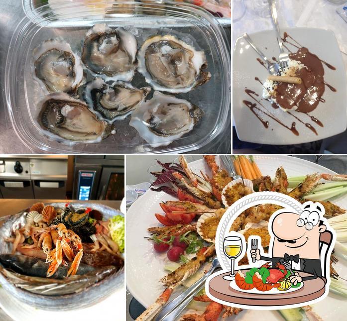 Toma marisco en Ristorante Pulcinella