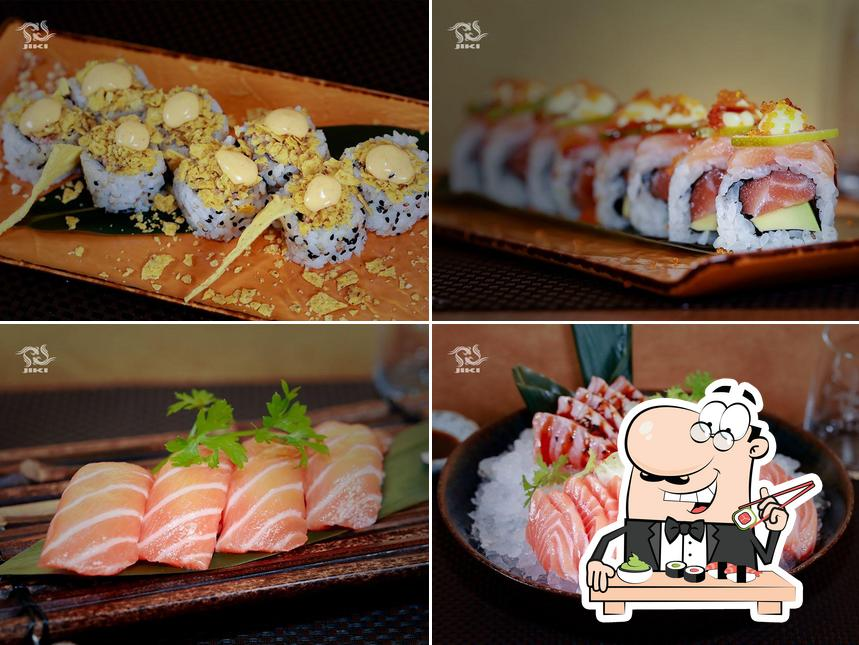 Prova le diverse opzioni di sushi