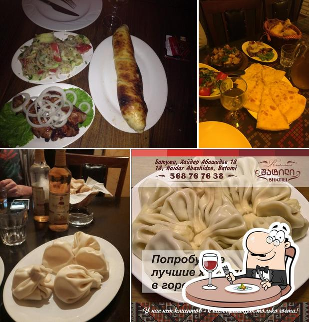 Meals at Shatili