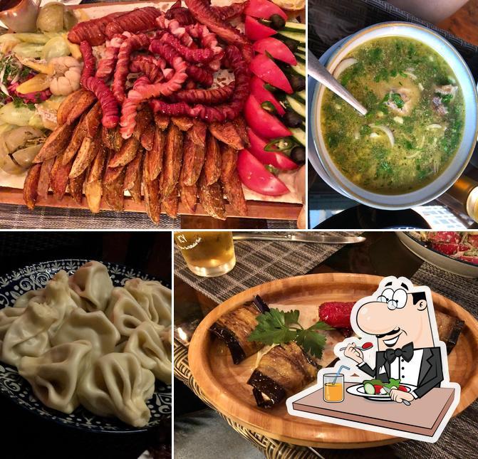 Food at Shatili