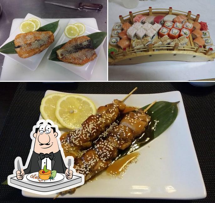 Блюда в суши-бар МИНАКИ