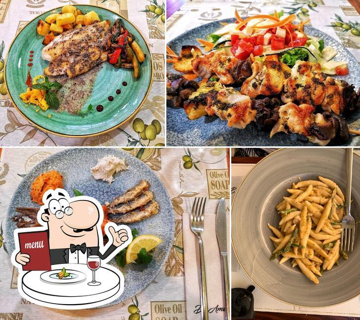 Meals at Taverna De Amicis