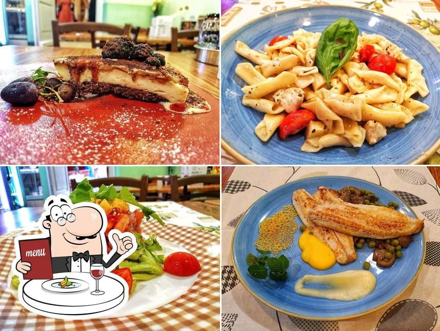 Food at Taverna De Amicis