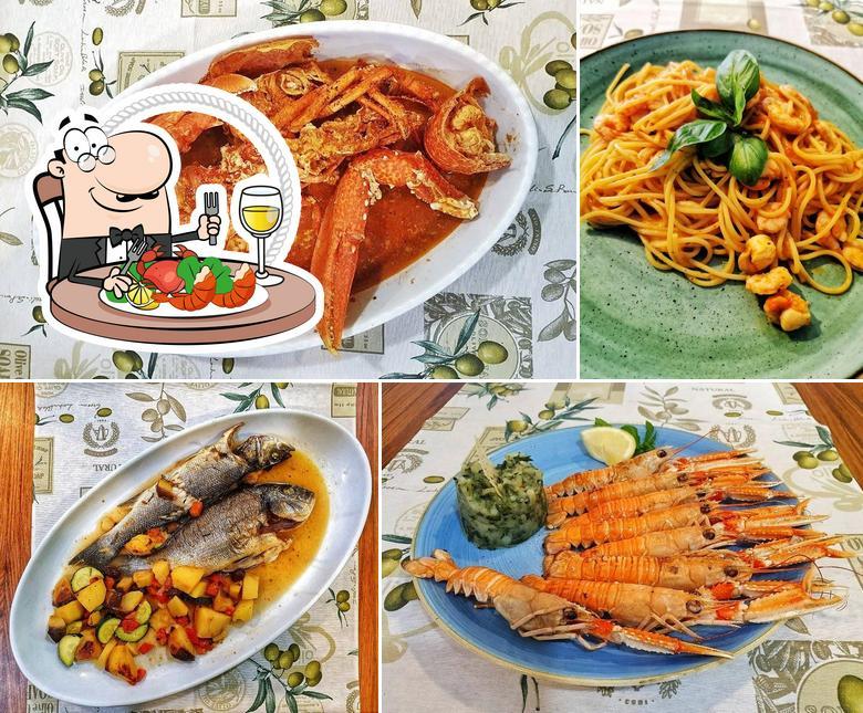 Get seafood at Taverna De Amicis
