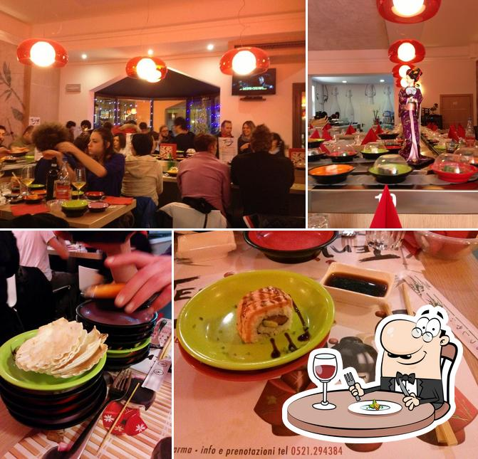 Meals at Tenji