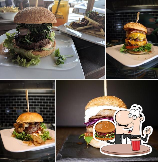 Try out a burger at The Bulldog - Burger & Barbecue Bar - Page