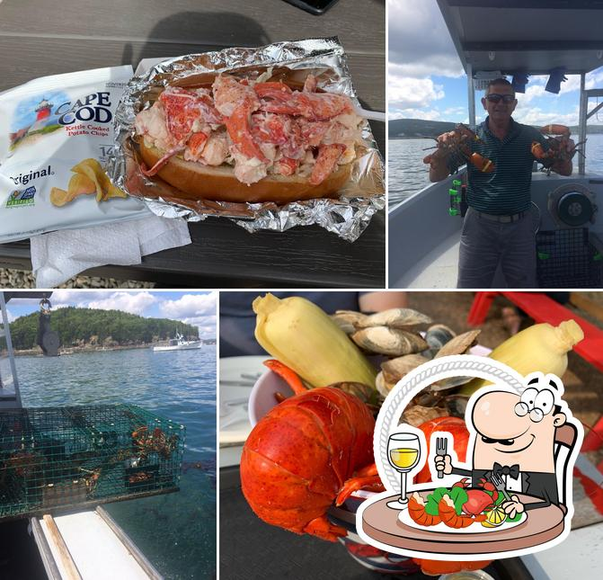 Get seafood at The Travelin Lobster, LLC