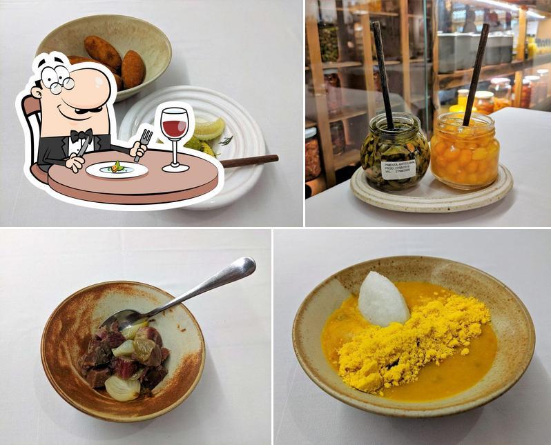 Platos en Restaurante Tordesilhas Cozinha Brasileira