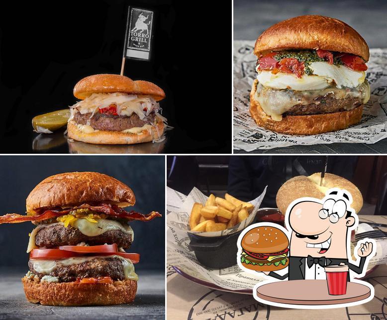 Попробуйте гамбургеры в Торро Гриль