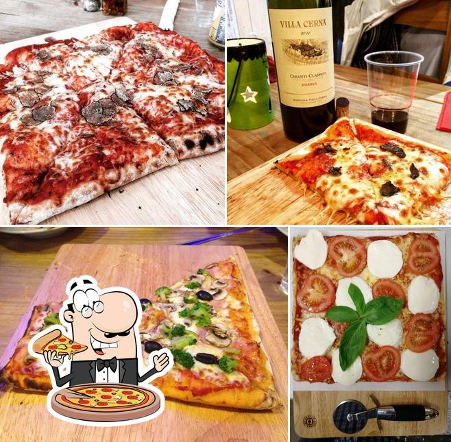 Try out pizza at Tradizioni