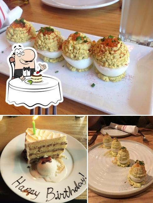Yardbird Southern Table & Bar serves a selection of desserts