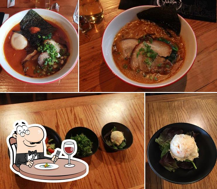 Meals at Yokoya
