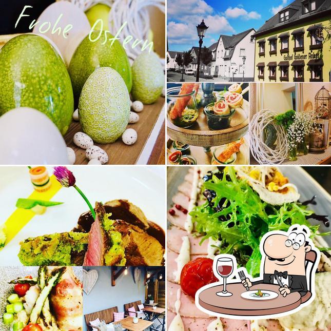 "Еда в Hotel Restaurant ""Zum Goldenen Anker"""
