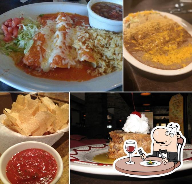Food at Salsalitos Cantina Mexican Restaurant