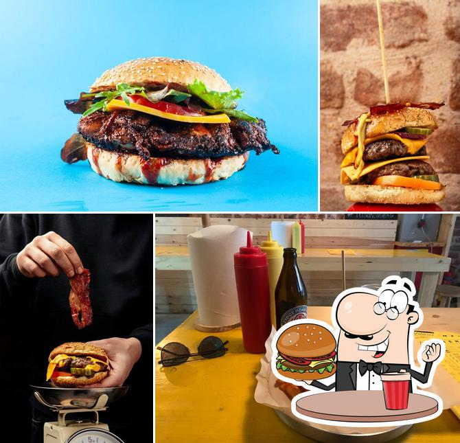 Tarantino Sandwiches & Fries's burgers will suit different tastes