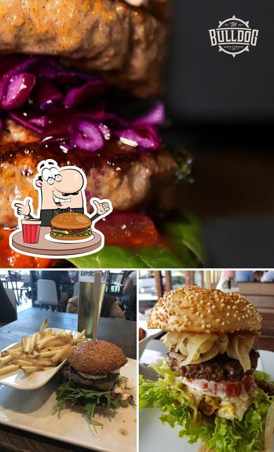 The Bulldog - Burger & Barbecue Bar - Page's burgers will suit a variety of tastes