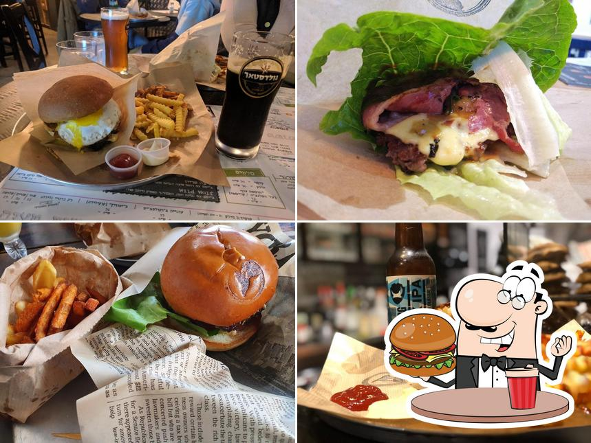 Treat yourself to a burger at wolf