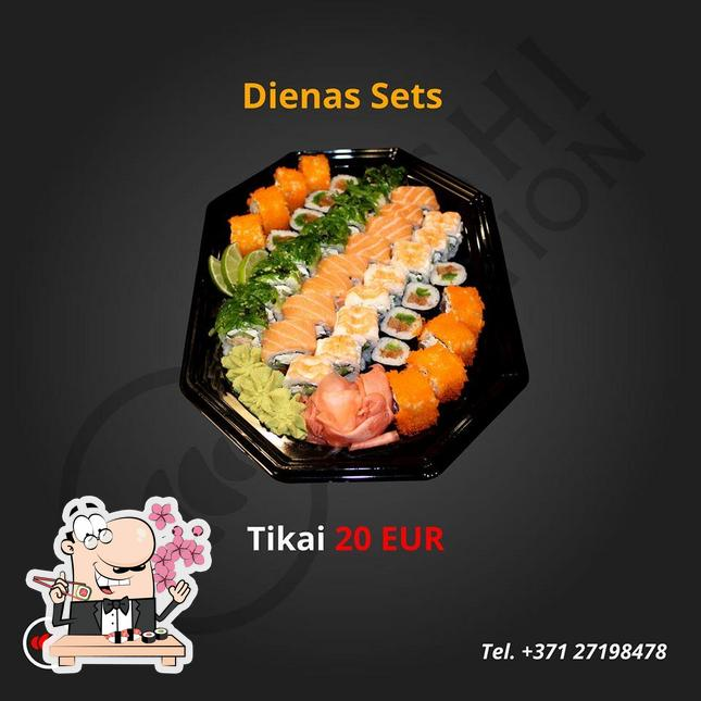 Sushi Station Cafe Liepaja Restaurant Reviews With your choice of white rice, brown rice, romaine lettuce, or seaweed salad. sushi station cafe liepaja