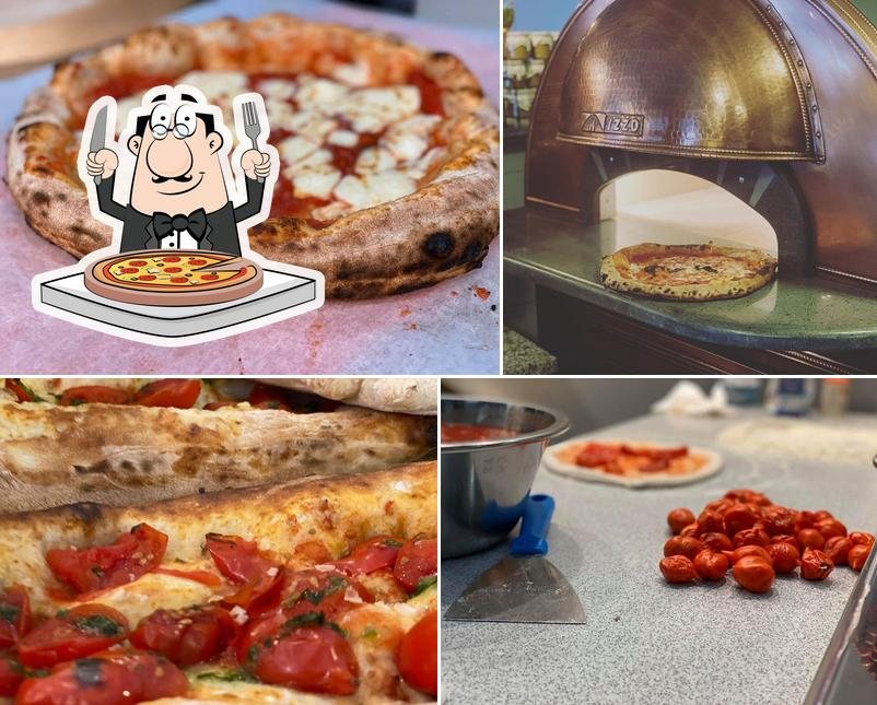 Pick different types of pizza