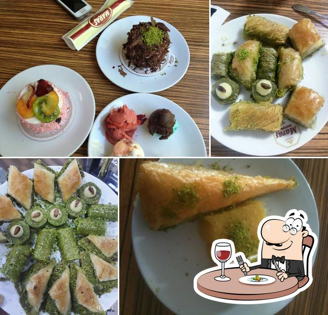 Food at Maraş Pastanesi