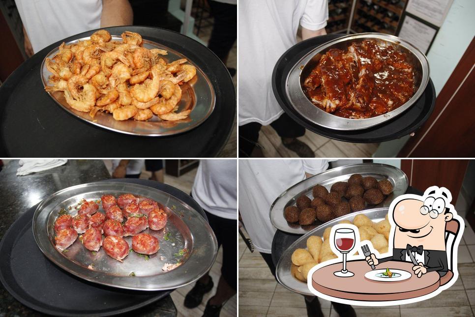 Platos en Oceano Restaurante e Choperia
