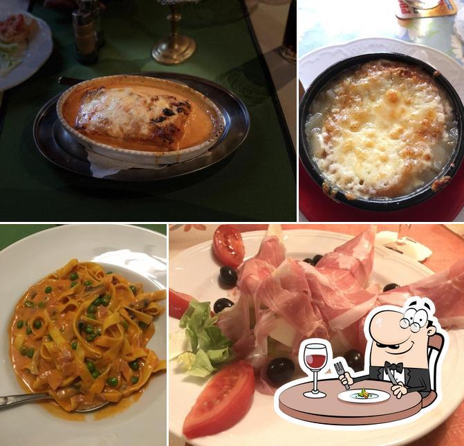 Nourriture à Pizzeria Italia