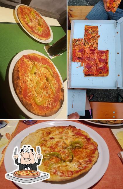 Choisissez des pizzas à Pizzeria Italia