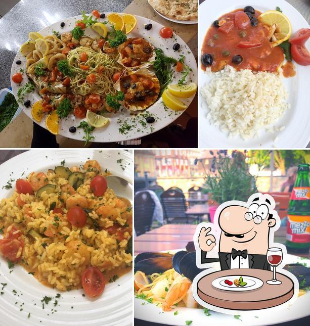 Essen im La Taverna