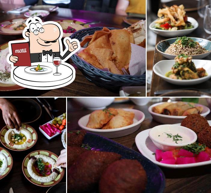 Meals at Mama Manoush