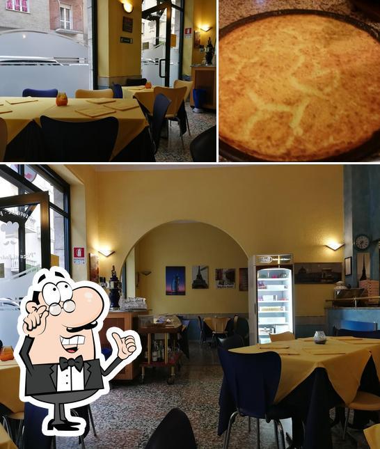 The interior of Pizzeria Exilles
