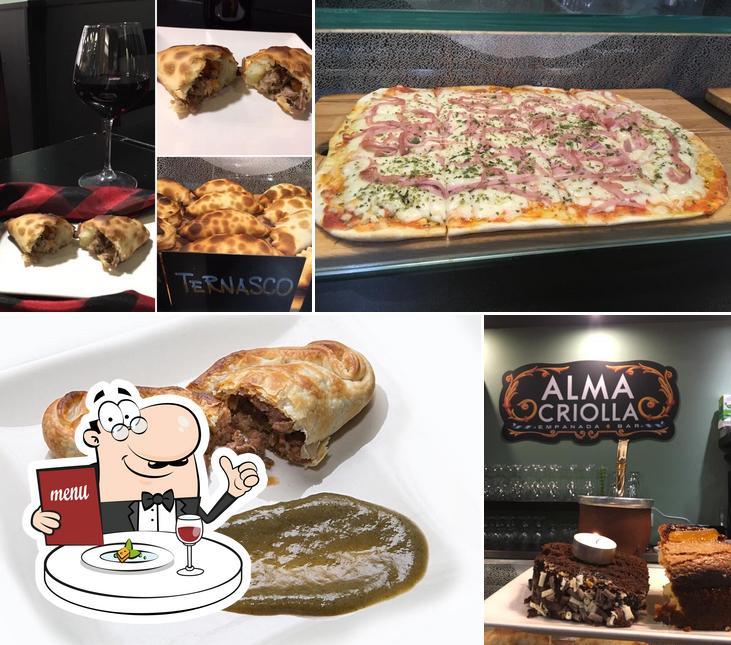 Comida en Alma Criolla Empanada Bar