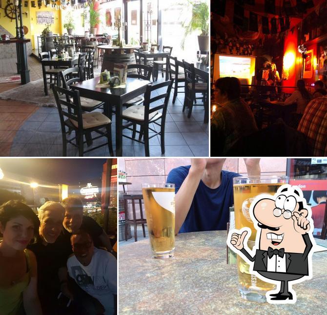 El interior de City Pub Chemnitz