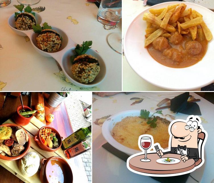 Еда в El Gallinero