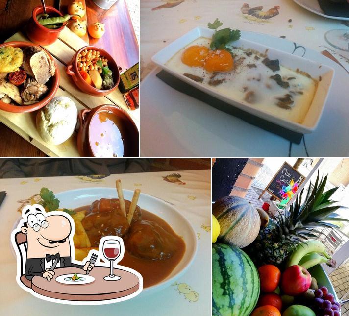 Блюда в El Gallinero