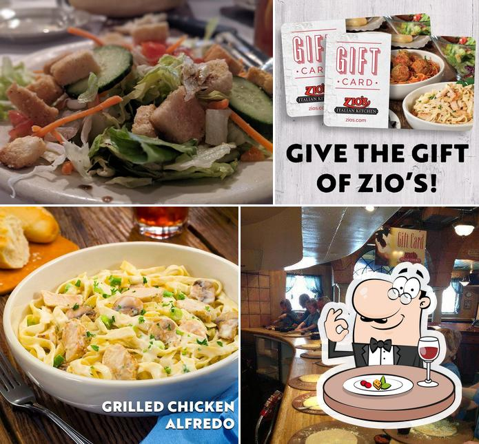 Zio S Italian Kitchen 7111 S Mingo Rd In Tulsa Restaurant Menu And Reviews
