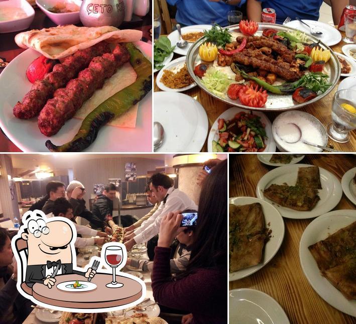 Meals at Çeto Kebap