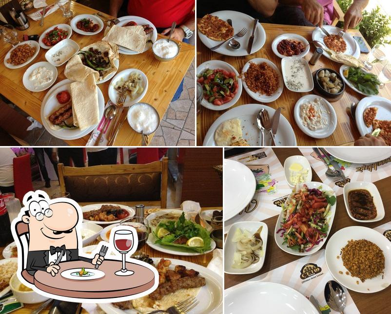 Food at Çeto Kebap